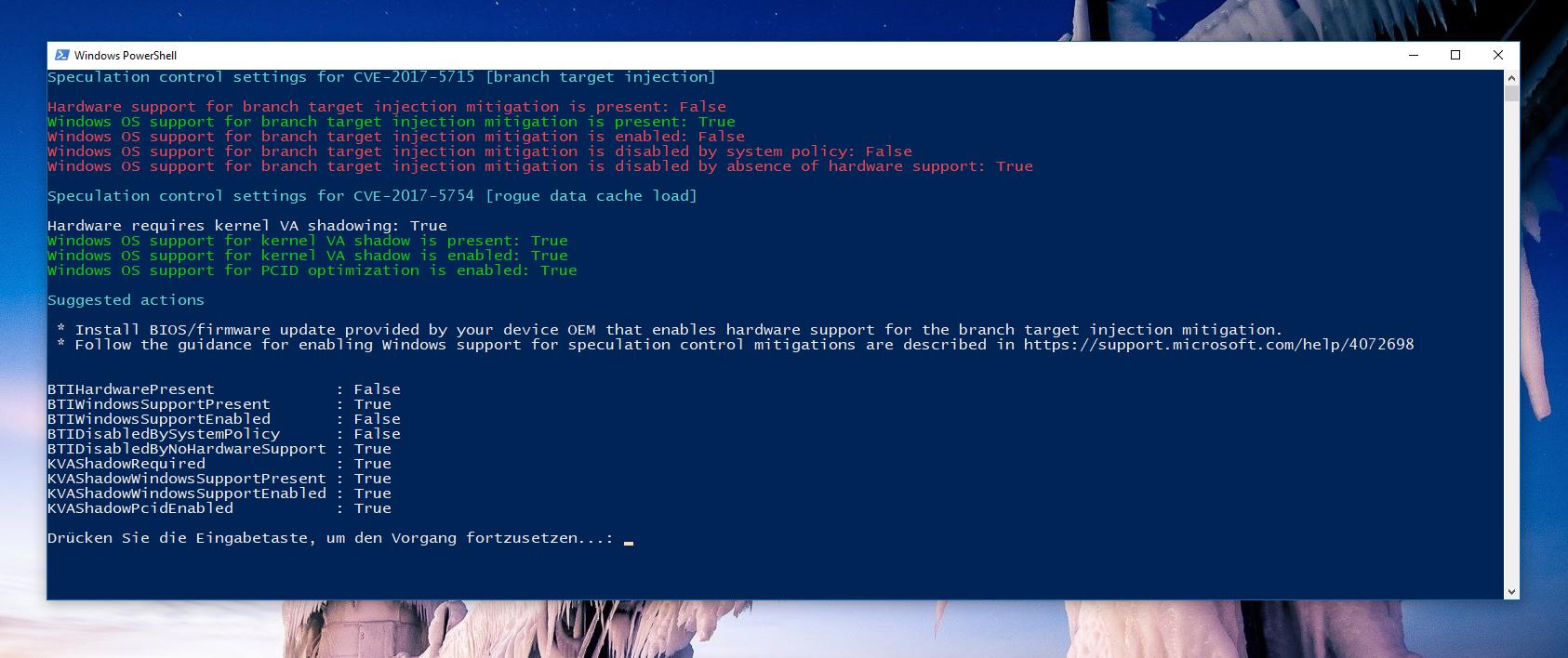 Windows Detection Tool